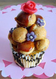 Crochembouche cupcake