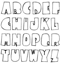Fonts Best Picture For alphabet letter crafts teaching For Your Taste You are looking for something, Hand Lettering Alphabet, Doodle Lettering, Creative Lettering, Calligraphy Letters, Brush Lettering, Alphabet Fonts, Doodle Alphabet, Disney Alphabet, Bullet Journal Font