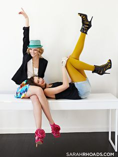 cute for a best friend pic. @Tori Gallaway we are so doing a picture like this!