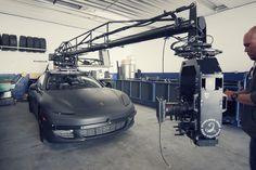 I cannot get over this Porsche Panamera Camera Car