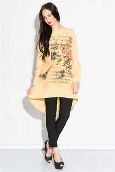 İRONİ ÖNÜ NAKIŞ BASKILI BLUZ (3776-643 SARI) 29,90 TL #baskılı #bluz #woman #bayan #sarı #uzun #uzunbluz #baskılıbluz #fashıon #trend #moda #modasenınlevar #allmissecom #allmisse #turkey #istanbul  http://allmisse.com/ironi-onu-nakis-baskili-bluz-21502