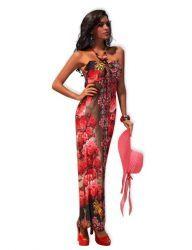 m Floral Maxi Dress, Clubwear, Summer Beach, Strapless Dress, Floral Prints, Bikini, Clothes For Women, Formal Dresses, Womens Fashion
