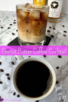 Alcoholic Coffee Drinks, Whiskey Drinks, Whiskey Cocktails, Alcoholic Desserts, Beverages, Whiskey Recipes, Alcohol Drink Recipes, Coffee Recipes, Cocktail Desserts