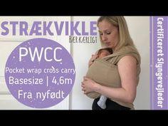 (8) Nyfødt i strækvikle / Newborn in strechy wrap (PWCC) - YouTube