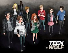 Teen Wolf - The Pack by Youko-Shirokiba on deviantART