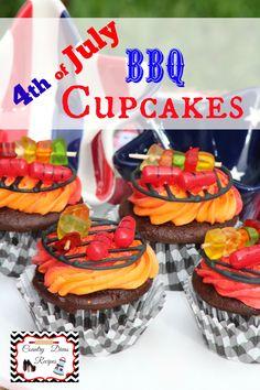Shish Kabob Cupcakes