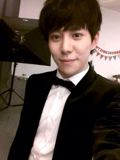 Goodnight from Kyung hes so cute :3