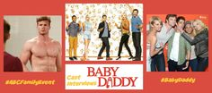 The Cast of Baby Daddy #ABCFamilyEvent