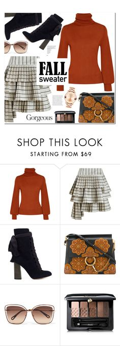 """Fall Sweater"" by christinacastro830 ❤ liked on Polyvore featuring Chloé, Zimmermann, Guerlain and Movado"