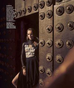 Кармен Педару для Harper's Bazaar Spain (Интернет-журнал ETODAY)