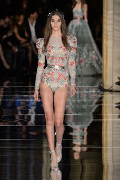 Zuhair Murad outfit at Couture Fashion Week 2016 (All Runway Looks)