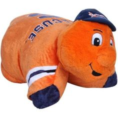 Buy Syracuse Orange Mascot Pillow Pet from the official Syracuse University Fan Store. Syracuse Fans Buy Syracuse Orange Mascot Pillow Pet and support SU Athletics. Syracuse Mascot, Syracuse Football, Syracuse University, Cuddles And Snuggles, Cuddling, Go Big Blue, Orange Pillows, Aleta, Felt Applique