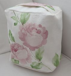 NEW DOOR STOP IN A PRETTY LAURA ASHLEY FABRIC - SOFT PINK ROSES | eBay