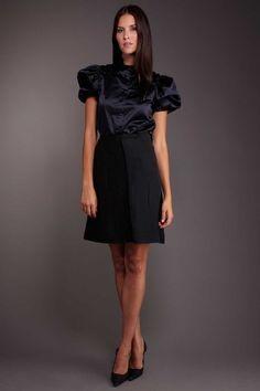 DecadesTwo Prada Paneled Skirt