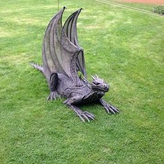 Halloween Style!! Perfect Dragon to guard the lair or stairs or lab or slab! Mother of Dragons!