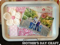 Dollar Store Mother's Day Craft. From Marci Coombs Blog