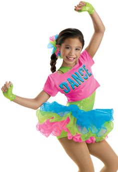 Dance costume. Really cute for 80's theme!