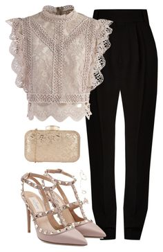 """Untitled #385"" by bellaxoxx on Polyvore featuring Haider Ackermann, Chicwish, Casato and Valentino"