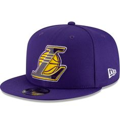 on sale b246e 176ee Los Angeles Lakers New Era Metal   Thread 9FIFTY - Adjustable Hat – Purple,  Your