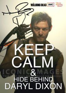 Amazon.com: The Walking Dead Daryl Dixon Poster Photo Signed PP by Norman Reedus