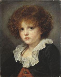 Petit Garçon au gilet rouge (Boy in red waistcoat) | Musée Cognacq-Jay