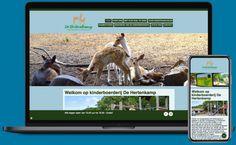Kinder- en zorgboerderij De Hertenkamp in Hilversum droomde er al lange tijd van: opstomen in het digitale tijdperk. Met een vernieuwde website kan de communicatie met haar bezoekers en vrienden van de kinderboerderij namelijk een flinke 'boost' krijgen. Sponsor Ontwerpfabriek Hilversum sprong in om deze wens direct mogelijk te maken. Met gebruik van haar Websitemachine.nl heeft de kinderboerderij nu al de basis van de website live staan en werkt hard door. Voor alle bezoekers en dieren! Web Design, Design Web, Website Designs, Site Design