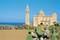 Beautiful churches in Gozo