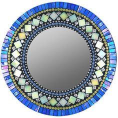 Zetamari  Elegant Mosaic Mirrors and Frames  Zetamari founder Angie Heinrich has been creating mosaics in Seattle since 1998. Inspired by the rhythm of Moroccan art and architecture, Heinrich crafts pieces with soothing symmetries of stunning glass tiles and beads. We think you'll love these richly textured and luxurious mirrors and frames.
