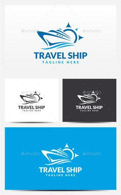 Ship Logo — Photoshop PSD #sailing #design • Available here → https://graphicriver.net/item/ship-logo/13080527?ref=pxcr
