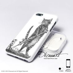 Case for iPhone 5. Cat and by Decouart. $18.99
