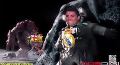 Barcelona in Champions League this Season | Funny football Astronaut Moon Monster