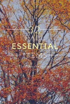 32 Essential Fall Items - TheCoffeeFella.com