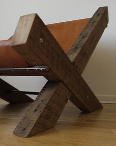 reclaimed wood chair - Google Search