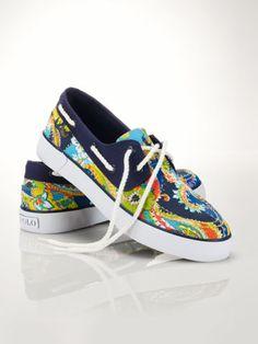 Paisley Lander Boat Shoe - Polo Ralph Lauren Sneakers - RalphLauren.com