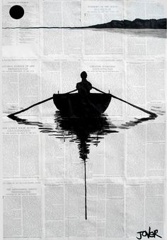 paper boat row. News paper ingenious once again!! Reminds me of some of my daddy's pieces. Lol using random house held items and making it art #beauty #art #artsy