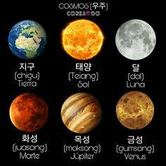 Korean Words Learning, Korean Language Learning, Learning Spanish, Korean English, Korean Lessons, Spanish Lessons, Learn Hangul, Korean Writing, Korean Alphabet