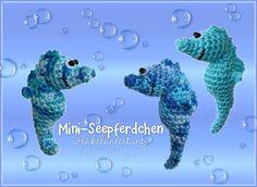 Häkelanleitungen - Häkelanleitung *Mini-Seepferdchen* - ein Designerstück von KristinasArt bei DaWanda