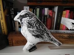 Check out our animals selection for the very best in unique or custom, handmade pieces from our shops. House Sparrow, Plushies, Screen Printing, Bookends, Dolls, Handmade, Etsy, Home Decor, Screen Printing Press