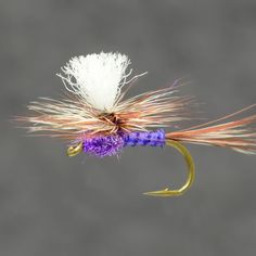 Fly Fish Food -- Fly Tying and Fly Fishing : Purple Haze