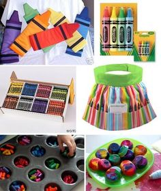 Love the crayon themed party.  Also found at hostess.com.  Kid friendly and super fun.