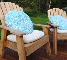 Genial Easy Tutorial For Making Round Outdoor Cushions. Would Be Perfect For The  New Mid