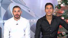 Real Madrid  Benzema et Varane vous souhaitent de bonnes fêtes et joyeux Noël