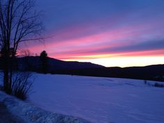 North Country Sunset