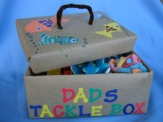 Tasty Tackle Box for Father's Day