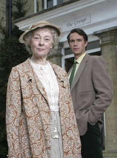 Miss Marple played by Geraldine McEwan