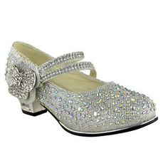 Zappos Women S Luxury Shoes Code: 6724859227 Bridesmaid Sandals, Bridal Sandals, Bridesmaids, Kid Shoes, Girls Shoes, Me Too Shoes, Communion Shoes, High Heels For Kids, Dress Up Shoes
