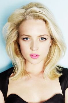 Medium length blonde