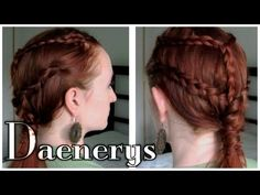 Game of Thrones Hair - Daenerys Targaryen. Learn to do your hair like the one true queen of Westeros!