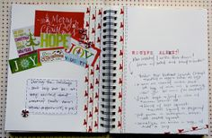 Little Luck Tree: Holiday Art Journal: Holiday Recipes!