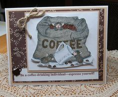 Coffee time at House Mouse by JD from PAUSA - Cards and Paper Crafts at Splitcoaststampers